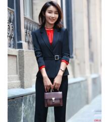 Black Blazer Women Business Suits Formal Office Suits Work Pant and Jackets Set Ladies Office Uniform Designs Pantsuits-in Брючные костюмы from Женская одежда on Aliexpress.com | Alibaba Group NoEnName_Null 32835679162