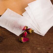 Чай Фильтры нетканые Ткань пустой Чай мешки заварены фильтр сумки для растений порошки вкус кипения специи 100 шт./лот No name 32810280321