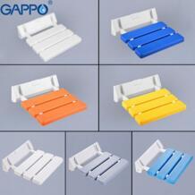 GAPPO складное настенное крепление душевые стулья для пожилых туалет сиденье для душа для инвалидов откидные стулья стул для ванной Cadeira No name 32849014018