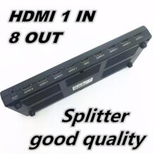 1080 P 3D мини 8 Порты и разъёмы HDMI Splitter Switcher 1x8 1 в 8 из распределитель hdmi сплиттер для HDTV PS3 Xbox EP программа хорошее качество-in Кабели HDMI from Бытовая электроника on AliExpress hononjo 32792449097