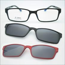 Бесплатная доставка Ультра-легкий Вольфрам титановая оправа для очков 3D магнитный зажим солнечные очки близорукость функциональные очки поляризованные 79 jkk 32356612754