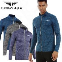 мужская куртка для бега, Свитера для фитнеса, тренировки на открытом воздухе, Спортивная Тренировка по футболу, тренировочные куртки для спортзала UABRAV 32842458489