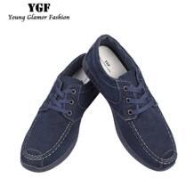 Ygf холст Джинсовая обувь Для мужчин дышащие кожи повседневная обувь Джинсы для женщин Для мужчин обувь холст Кружево до Для мужчин S Обувь Tenis No name 32791031472