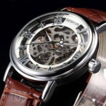 Элитный бренд, механические часы для мужчин, часы со скелетом, римские повседневные наручные часы, мужские механические наручные часы Sewor 32340789239