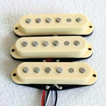 Продаем Бесплатная доставка отличный звук Alnico 5 Стержень ST звукосниматель для гитары 3 шт./компл. одной катушки гитары пикап No name 494803458