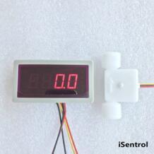 US202M и USN-HS21TS-1 Импульсный счетчик потока усилитель 55 раз портативный дисплей и блок питания Plug and Play 0,15-1.5L/мин Ultisolar 32881216908