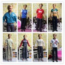 Ailaiki игрушка мужской Куклы деним Комплекты для девочек для принца Кен одежда для друга Куклы мальчик приятные подарки Best оптовая продажа No name 1667660860