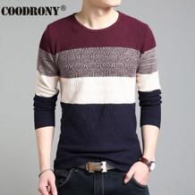 HS известный бренд свитер Для мужчин рубашка с длинными рукавами пальто Для мужчин свитера и пуловеры Slim Fit Мода тянуть Homme в полоску Костюмы 6653 No name 32616461879