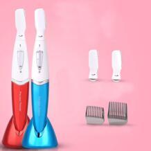 Новое поступление Micro Precision Электрический с крышкой триммер, для удаления волос бикини уход за кожей лица волос бритвы Портативный Макияж интимные аксессуары No name 32787761068