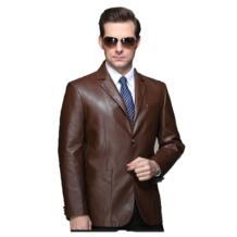 2016 Новинка стиль моды для мужчин мотоцикл Пояса из натуральной кожи плюс 4XL куртка пальто мужчины тонкие облегающие Пояса из натуральной кожи пиджак пальто 265 No name 32356117337