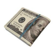 Милые двойные 100 доллара США Деньги кошелек новый дизайн Новинка смешной подарок мальчик молодых мужчин бумажник женщины Монета Чехол искусственная кожа-in Кошельки from Багаж и сумки on Aliexpress.com | Alibaba Group MAD 32278979769