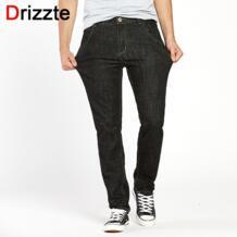 Для мужчин S качества Модные эластичные джинсы 33 34 35 36 38 40 42 44 брюки бренд Мода растягивается Для мужчин длинные брюки Drizzte 32628580428