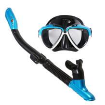 Это МОРСКИЕ Маска трубка высокого Количество Силиконовые Плавание трубки Анти-туман плавательные очки дайвинг трубка для подводного плавания LIXADA 32876998203