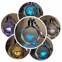 2019 KPOP SUGA V RM JIMIN JungKook JIN J-HOPE светодиодный Кристалл Изменение цвета брелок игрушка вентиляторы коллекция Lightstick SGDOLL 32818707962