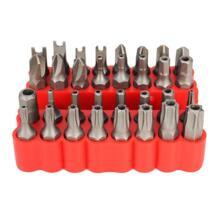 33 шт. звезда шестигранный ключ Torx мини электрический шуруповерт держатель мелких предметов наборы хром вандиум Набор бит безопасности прочная отвертка набор Drillpro 32821792139