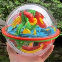 3D волшебный головоломки Интеллект лабиринт мяч дети удивительный баланс Logic способность игрушки обучения и образовательных IQ тренер Настольная игра No name 32764253387