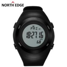 2016 спортивные часы пульсометр датчик 3D шагомер часы мужские Бег цифровые наручные часы открытый груди Мужская калорий NORTH EDGE 32474562258