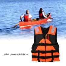 Это открытый взрослых спасательное спасательный жилет Плавание морской жизни куртки безопасности выживания костюм помощь для водных видов спорта рыбалка No name 32814657546
