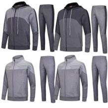 Для мужчин футбол Штаны комплекты футбольных тренировок Штаны свитера утолщаются футбол куртки Джерси униформы на заказ костюмы 6626 No name 32902222266