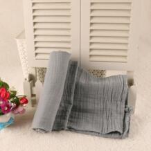 Оптовая продажа Oganic хлопок муслиновое детское одеяло пеленать обёрточная бумага Весна новорожденных Swaddleme одеяло для младенцев черный, белый цвет JUST CUTE 32818698551