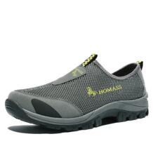 Для мужчин; Лоферы для отдыха легкие дышащие Aqua водонепроницаемая обувь быстрое высыхание Нескользящие Upstream болотных Ботинки трекинговые Купание Рыбалка HOMASS 32862425419