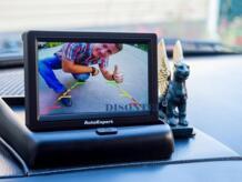 """4,3 """"экран мониторы складной цифровой TFT ЖК дисплей заднего вида автомобиля для Камера Сложенный черный No name 1438562433"""