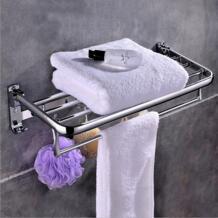 Новый Ванная комната Полотенца стойки висит бар Многофункциональный Ванная комната оборудование Полотенца бар брода 58 см Высокое качество Аксессуары для ванной комнаты No name 32828490954