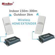 Беспроводной HDMI приемник передатчик, HSV891W 1080 P Беспроводной HDMI Extender до 3 км Открытый HDMI Беспроводной Extender 1080 P No name 32801244290