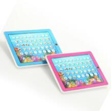 Engish и испанский Обучающий компьютер детские развивающие игрушки для Детское обучающее устройство настольные музыкальные игрушки и свет YSGO 32851640861