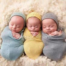 Детское одеяло для фотосъемки, хлопковое вязаное ежемесячное одеяло для новорожденных, супер мягкая Пеленка, Детская накидка, реквизит для девочки, гамак muslintree 32664024031