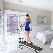 Mute fitness домашняя беговая дорожка многофункциональное снаряжение для бега широкий пояс для пробежек скручивание талии машина 100 кг нагрузка HWC Strong-Toyers 32949035542