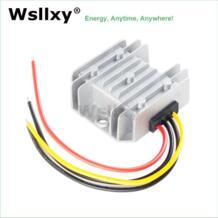 Водостойкий понижающий преобразователь 24 В в до В 12 В DC-DC конвертер 5A 10A регулятор напряжения для автомобиля монитор питания wsllxy 32623371699