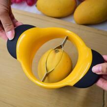 1 шт. нож для фруктов разветвитель из нержавеющей стали нож для разрезания манго слайсер для персиков разделитель инструмент для кухни оформление No name 32853465780