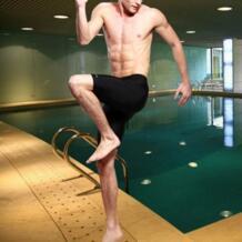 Плюс Размеры L-4XL профессионального качества мужские конкурентные плавки Акула кожи Купальники Купальник Пятый Брюки No name 32788944144