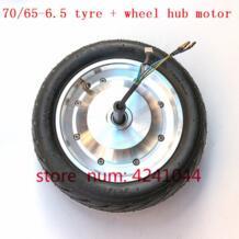 6,5-70/65 вакуумная шина + В 36 в 250 Вт Баланс колеса автомобиля концентратор мотор для Xiaomi Mini Электрический Ховерборд 10 ''бесщеточный концентратор мотор No name 32953055538