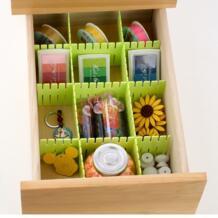 4 шт. много DIY утолщенной кухня хранения перегородки отделка полки ящик для хранения разделительная пластина No name 32841745818