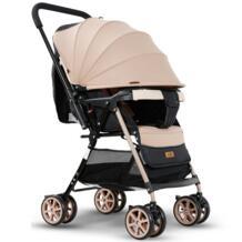 Ультра-легкая детская коляска может сидеть может лежать складной четырехколесный амортизатор новорожденный двухсторонний капюшон на коляску детская тележка jinbao 32863794656