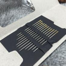 48 шт. Вязание иглы DIY ручной работы пожилых слепой иглы двойные отверстия needler 3 разных Размеры шитье инструменты рукоделие No name 32610414586