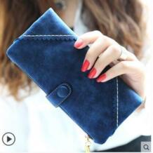 2019 брендовый женский винтажный кошелек женский кошелек клатч Carteira Feminina длинный женский кошелек на молнии с застежкой модная повседневная сумка для монет QXMINGJIA 32596109932