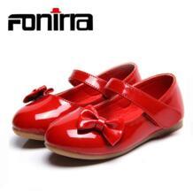 Модная повседневная обувь mary janes с бантиком для девочек красного цвета на плоской подошве для детей, обувь для девочек для вечеринки, свадебные туфли розового и белого цвета 113 FONIRRA 32737859732