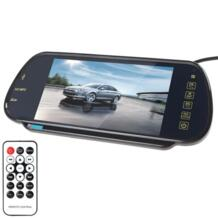 7 дюймов TFT ЖК-дисплей Экран дисплея MP5 автомобиля Зеркало заднего вида монитор Поддержка SD USB No name 565959507