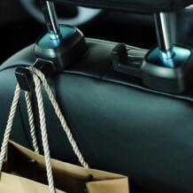 Из 2 предметов Бесплатная доставка качество заднем сиденье автомобиля подголовник крепление крючки Авто крючок вешалки No name 32846791973