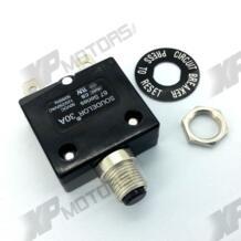 Кнопка автоматический выключатель для работы до 50 вольт постоянного тока или 250 вольт переменного тока. No name 32600307407