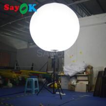 Лидер продаж надувные стоять шар штатив с галогенной лампы или RGB света для Событий Рекламы No name 32385819221