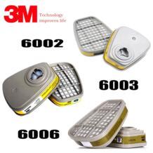 3 м картридж фильтр 6001 6002 6003 6006 сотрудничать с 6200 7502 6800 маска вместе использования-in Химические респираторы from Безопасность и защита on AliExpress 3М 4000030965034