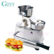 Gzzt Алюминий сплав гамбургер Пресс Maker руководство Burger Пэтти мясо Пресс машина гамбургер Диаметр 100 мм No name 32830748414