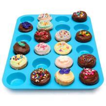 24 интегрированный большой круговой пирог выпечки чашки силиконовая форма для пудинга покрытие торт инструменты формы для выпечки блюдо инструменты VKTECH 32824290192