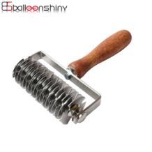 пирог пицца печенье для разрезания из нержавеющей стали выбивать тесто роликовый нож резак ремесло пиццы инструменты формы для выпечки BalleenShiny 32855061747