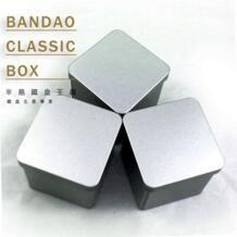 Прекрасные площади плотная небольшой жестяной коробке/коробка чая или шкатулка без печати No name 727476800