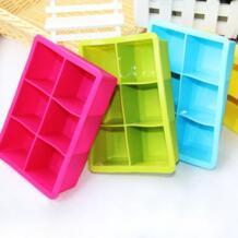 Zeegle силиконовые формы для кубиков льда Формы для выпечки DIY Шоколад формы для льда инструмент DIY помадка для украшения торта инструмент 6 отверстий No name 32801477032